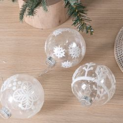 시안볼 100(mm) [3개입] 크리스마스 장식 TRBALC