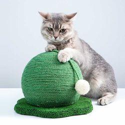 LA그린볼 스크래쳐 고양이용품 평판형