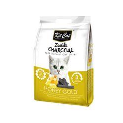 고양이화장실모래 킷캣 제오라이트 모래 - 허니골드향