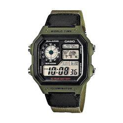 카시오 남성 레진 디지털시계 AE-1200WHB-3B