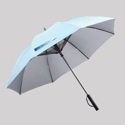 USB 충전식 자외선차단 선풍기양산 27인치 대형장우산