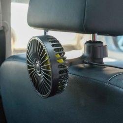 2개 차량용 뒷좌석 선풍기 자동차 냉풍기 써큘레이터
