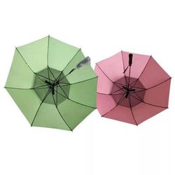 남녀공용 경량 골프 자외선양산 우산 선풍기우산