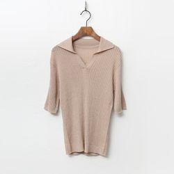 Golgi Collar Knit