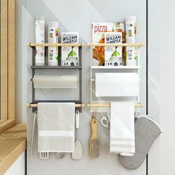[특가] 냉장고 다용도 자석 선반 2Color