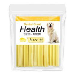 국산 강아지간식 자이언트 치즈맛 260g 8p 2개 강아지밥