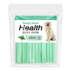 국산 강아지간식 자이언트 민트맛 260g 8p 2개 강아지밥