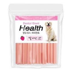국산 강아지간식 자이언트 딸기맛 260g 8p 2개 강아지밥