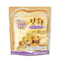 국산 강아지간식 갓구운 양고기칩 쿠키 350g 2개 강아지밥