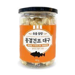 강아지간식 츄릅�y�y 동결건조 대구 40g 강아지밥