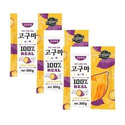 강아지간식 건강하개 고구마스틱 300g 5개 강아지밥