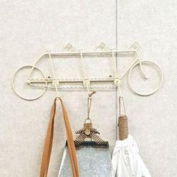 크림 와이어 트리플 자전거 훅