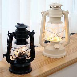 호롱불 LED와이어 랜턴 소형  (감성캠핑랜턴)