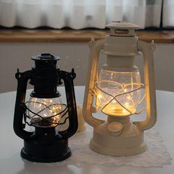 호롱불 LED와이어 랜턴 대형  (감성캠핑랜턴)