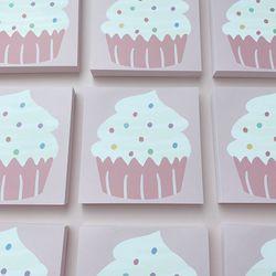로맨틱핑크 모아제작소 컵케이크 떡메모지