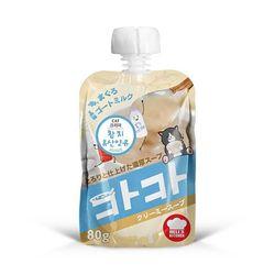 고양이간식 카카 참치 산양유 100g 12개 어덜트
