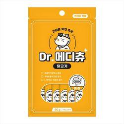 국산 고양이간식 닥터메디츄 닭고기 60g 3개 위장건강