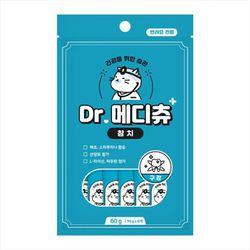 국산 고양이간식 닥터메디츄 참치 60g 3개 구강건강