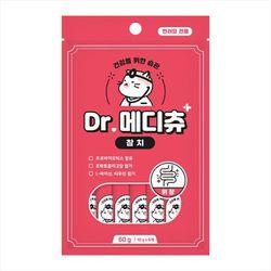 국산 고양이간식 닥터메디츄 참치 60g 3개 위장건강