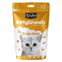 고양이간식 킷캣 키티크런치 닭고기맛 60g 3개 고양이밥