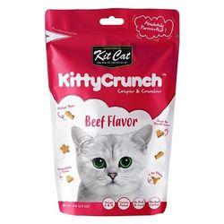 고양이간식 킷캣 키티크런치 소고기맛 60g 3개 고양이밥