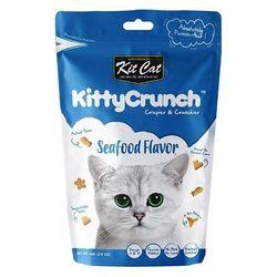 고양이간식 킷캣 키티크런치 씨푸드맛 60g 3개 고양이밥