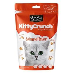 고양이간식 킷캣 키티크런치 연어맛 60g 3개 고양이밥