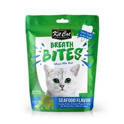 고양이간식 킷캣 브레쓰바이트 씨푸드맛 60g 3개 고양이밥