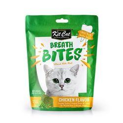 고양이간식 킷캣 브레쓰바이트 닭고기맛 60g 3개 고양이밥