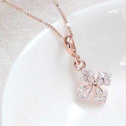 Woman daily 14KGP rose gold 체인 목걸이 CH1759197