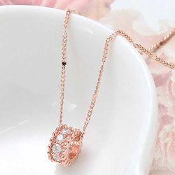Woman daily 14KGP rose gold 체인 목걸이 CH1759190