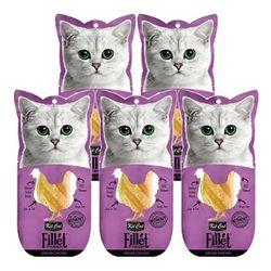 고양이간식 킷캣 프레쉬필렛 닭가슴살 타우린 30g 5개