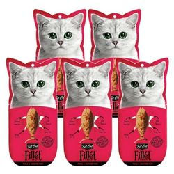 고양이간식 킷캣 프레쉬필렛 참치 가다랑어 30g 5개