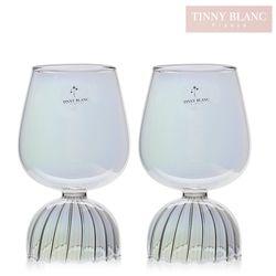 티니블랑 오로라 내열유리 글램 와인잔 590ml 2P세트