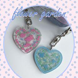 [뮤즈무드] flower garden key ring (키링)