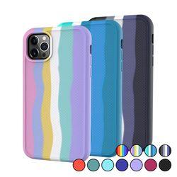 아이폰7플러스 컬러풀 심플 슬림 실리콘 케이스 P620