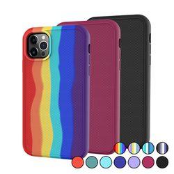 아이폰8플러스 컬러풀 심플 슬림 실리콘 케이스 P620