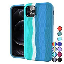 아이폰11 컬러풀 심플 슬림 커버 실리콘 케이스 P620
