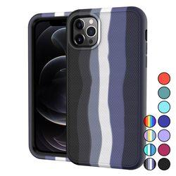 아이폰11PRO 프로 컬러풀 심플 실리콘 케이스 P620