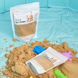 향균 CLAY 모래놀이 샌드 1kg