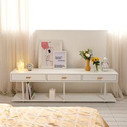 트리니 거실 테이블 1800 TV 티비 다이 선반 거실장 3color