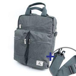 (EVEREST) 노트북 스탠다드 포켓 토트숄더백 M060LT