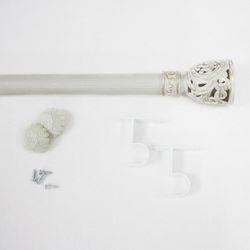 화이트 커튼봉 - 지름25mm