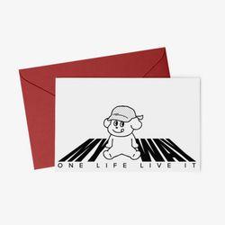 클래식 일러스트 엽서 봉투 3종 set