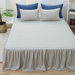 세미마이크로화이바 스위트 침대스커트 침대커버 Q(150x200)