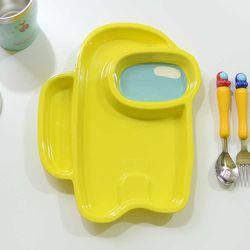 어몽어스 간식접시 어린이집 간식 쟁반 그릇 식판