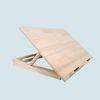 소나무 북이젤80 WDE09 리딩데스크 각도조절 접이식 필기 독서대