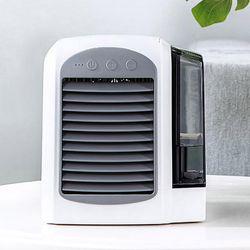 급속 냉각 탁상용 LED 미니 냉풍기
