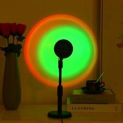 인공 태양 감성 선셋 석양 LED 프로젝션 조명 무드등