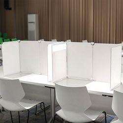 책상 식당 사무실  칸막이 가림막 파티션 투명 아크릴